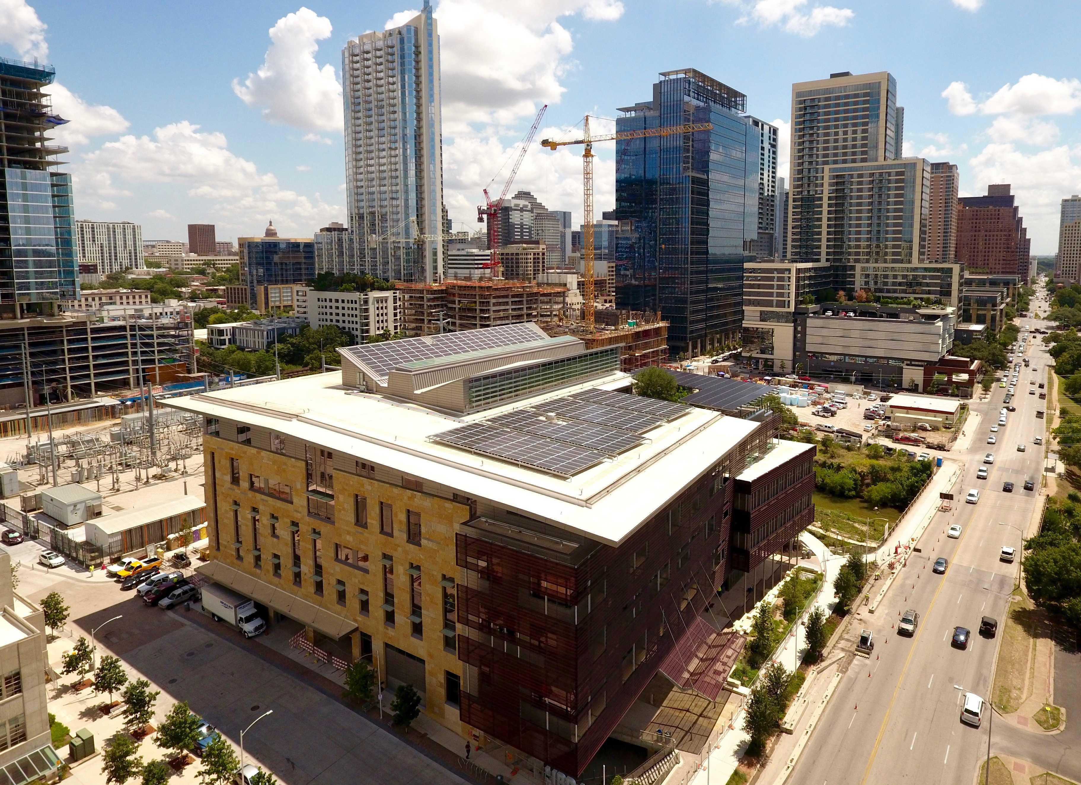 Austin Central Library Solar
