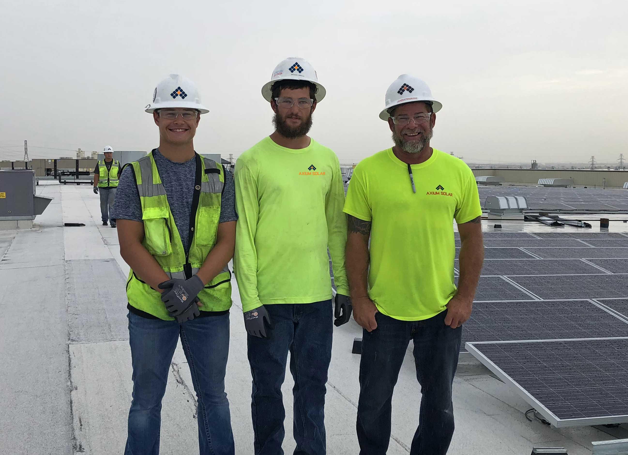 Axium Solar Crew
