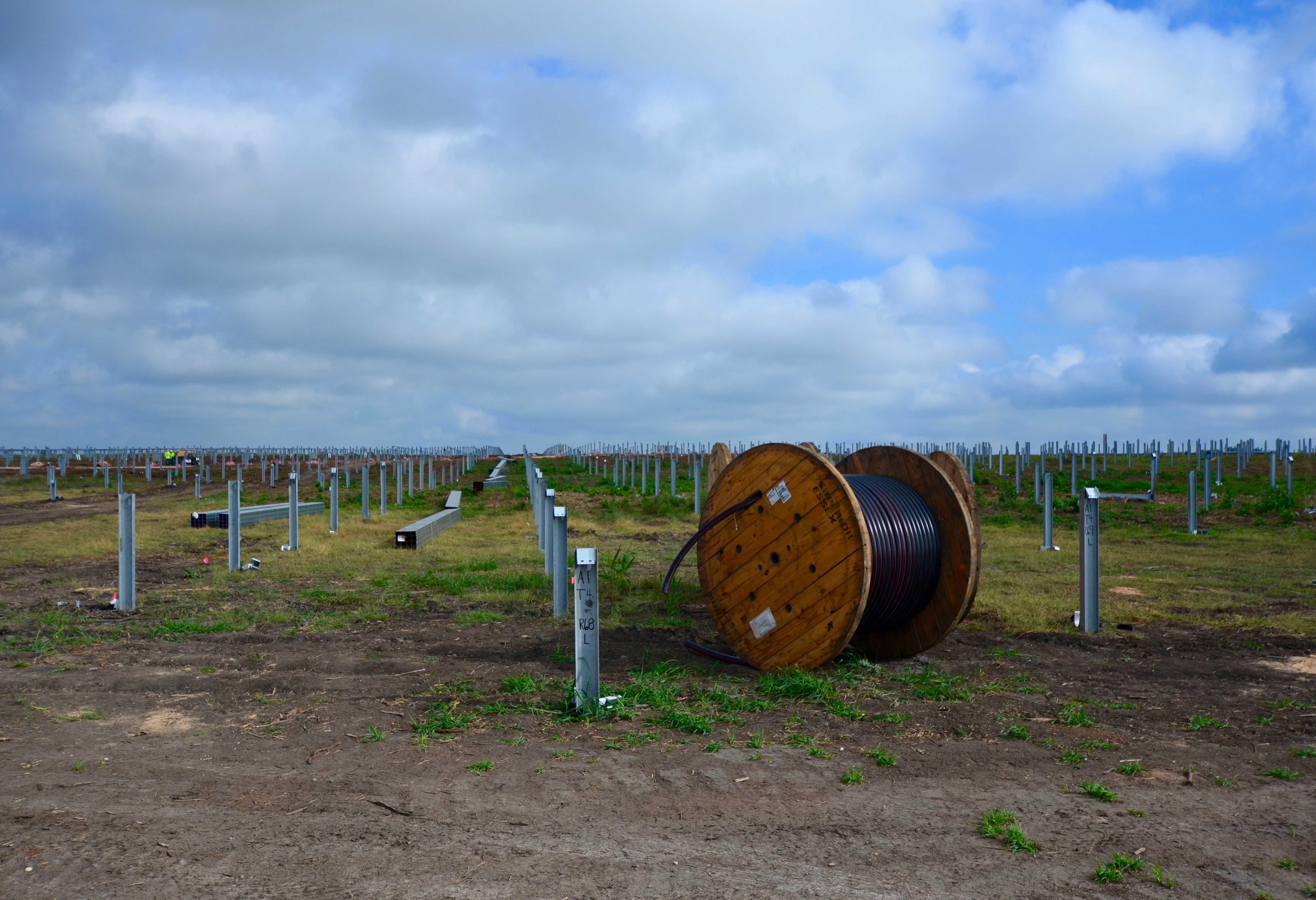 Axium Solar installs utility scale solar