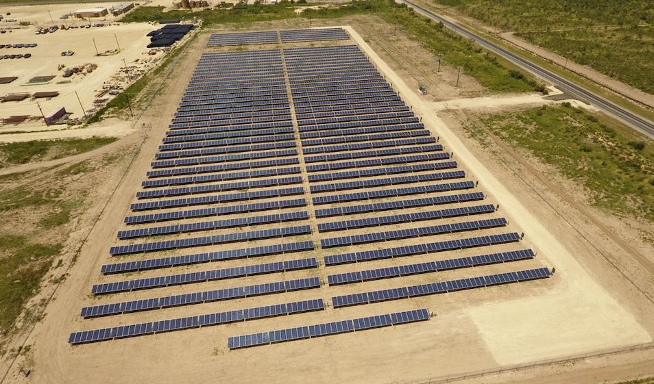 Utility Scale Solar In Texas New 1 Megawatt Power Plant