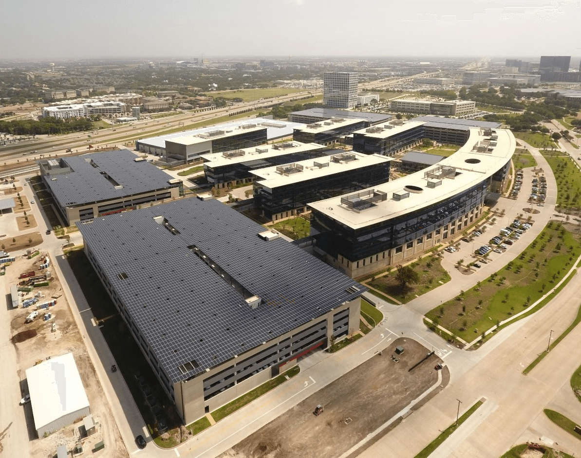 Toyota Headquarters Solar